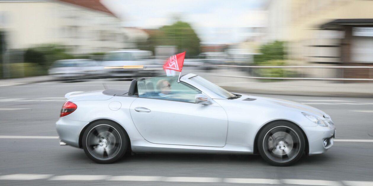 Vollgas für Tarifverträge Fulda - Breite Solidarität aus der Metallindustrie, der Region, Parteien und sozialen Bewegungen
