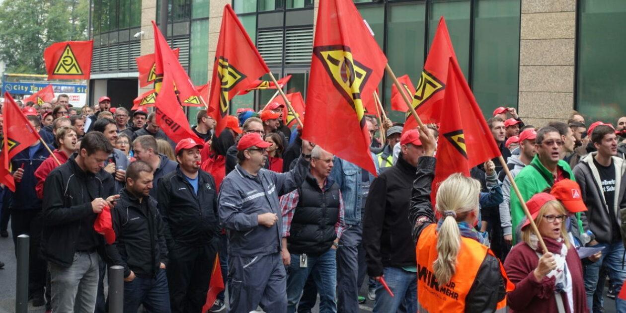Vernunft oder Arbeitskampf – Warnstreiks in ganz Hessen – 700 auf Protestkundgebung