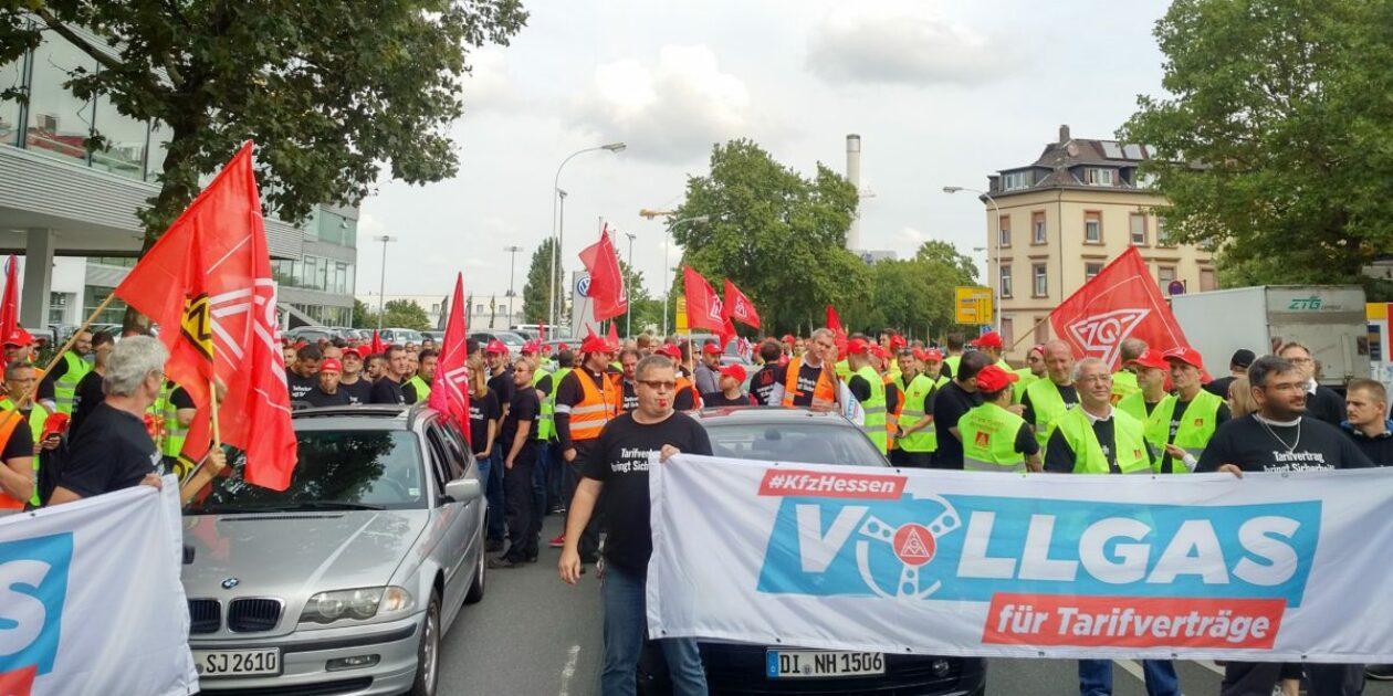 Auf zum hessenweiten Aktionstag nach Frankfurt! Folgt den örtlichen Warnstreikaufrufen!