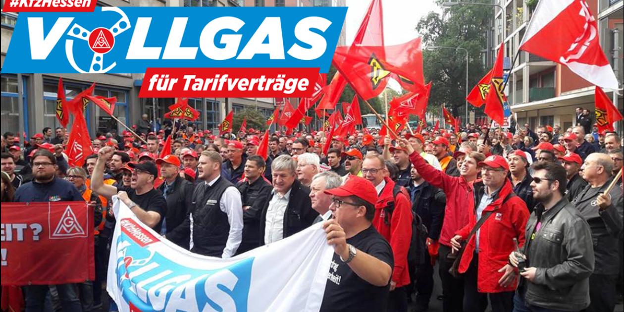 Save the date: 6. Oktober #kfzhessen – Vollgas für Tarifverträge: Aktiven Treffen