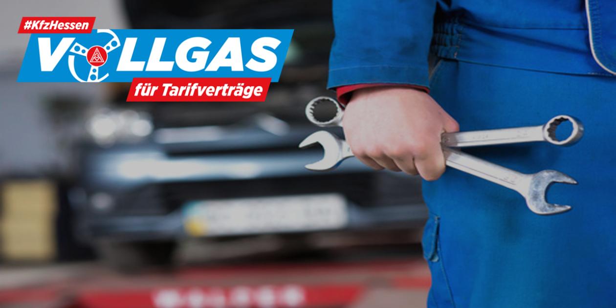 #kfzhessen-Vollgas für Tarifverträge: Aktionstreffen in Kassel am 15.09.2018