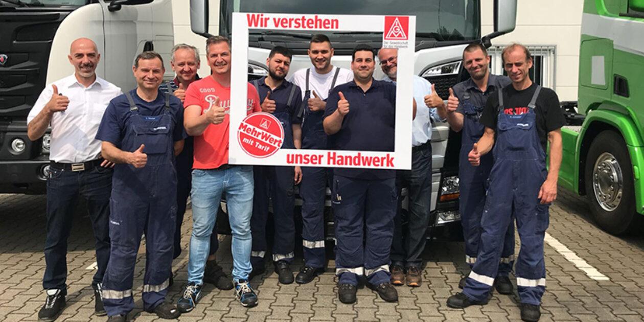 Solidarität brachte Tarifergebnis - Mehr Geld und kürzere Arbeitszeiten bei Scania