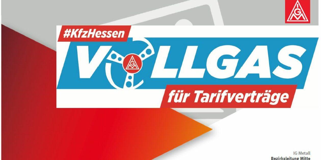 Tarifpolitische Handwerkstagung des Bezirkes Mitte bereitet Tarifrunde Kfz Hessen 2019 vor