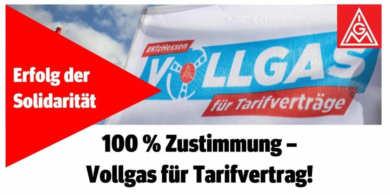 Solidarität schafft Zukunft– atzert:weber Betriebe in Fulda und Schlüchtern tarifgebunden