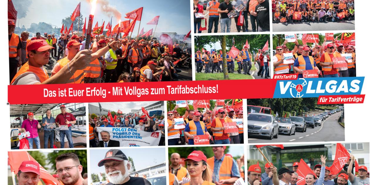 5,3 % mehr Einkommen im Kfz Gewerbe Hessen in zwei Stufen gemeinsam erkämpft