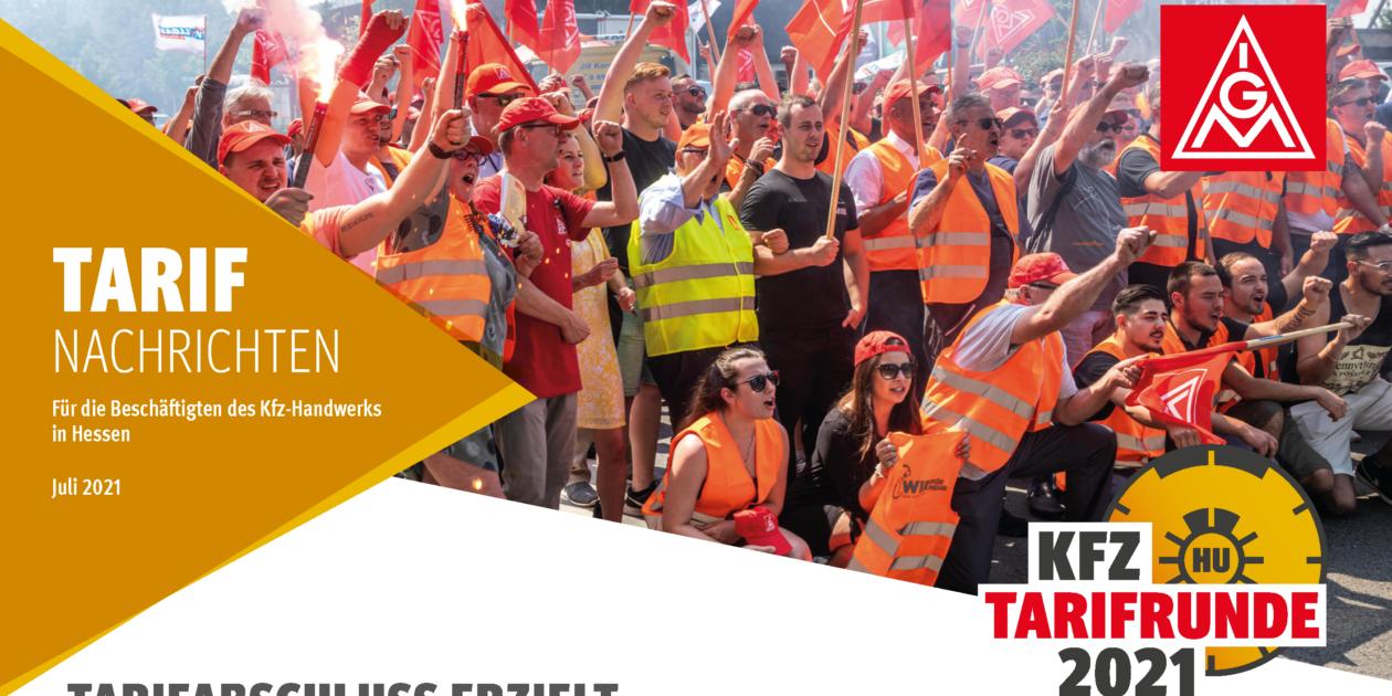 Tarifrunde 2021: Beschäftigte im Kfz-Handwerk Hessen bekommen mehr Geld